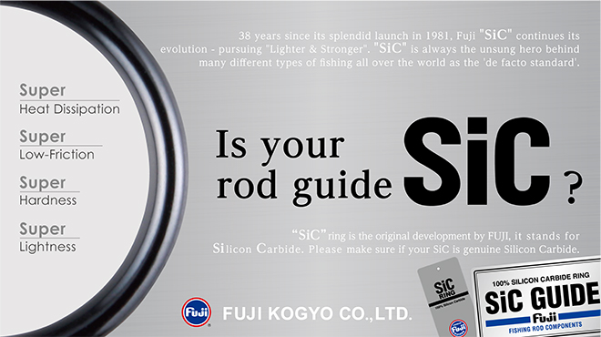 Is your rod guide SIC?
